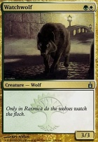 Ravnica Foil: Watchwolf