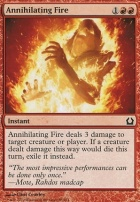 Return to Ravnica Foil: Annihilating Fire