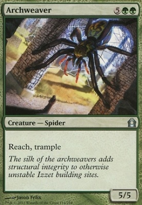 Return to Ravnica Foil: Archweaver