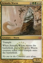 Return to Ravnica Foil: Armada Wurm