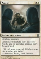 Return to Ravnica Foil: Arrest