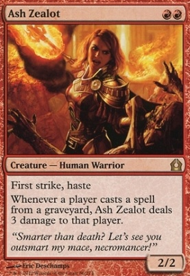 Return to Ravnica: Ash Zealot