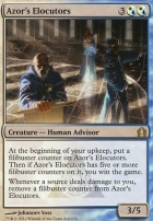 Return to Ravnica Foil: Azor's Elocutors