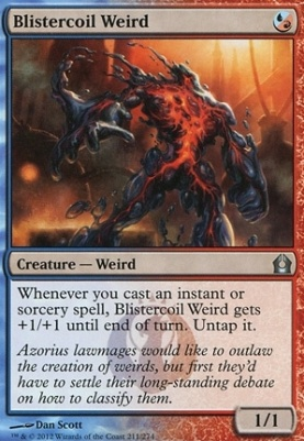 Return to Ravnica: Blistercoil Weird
