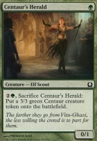 Return to Ravnica Foil: Centaur's Herald