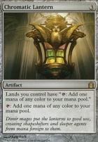 Return to Ravnica Foil: Chromatic Lantern