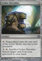 Return to Ravnica Foil: Codex Shredder