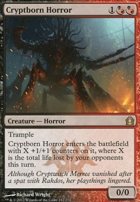 Return to Ravnica Foil: Cryptborn Horror