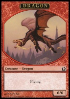 Return to Ravnica: Dragon Token