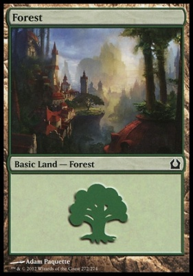 Return to Ravnica: Forest (272 C)