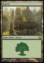 Return to Ravnica: Forest (273 D)