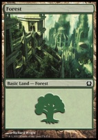 Return to Ravnica: Forest (274 E)