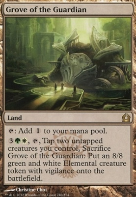 Return to Ravnica: Grove of the Guardian