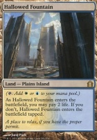 Return to Ravnica Foil: Hallowed Fountain