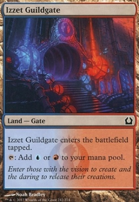 Return to Ravnica Foil: Izzet Guildgate