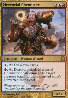 Return to Ravnica: Mercurial Chemister