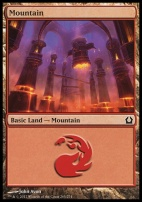 Return to Ravnica: Mountain (265 A)