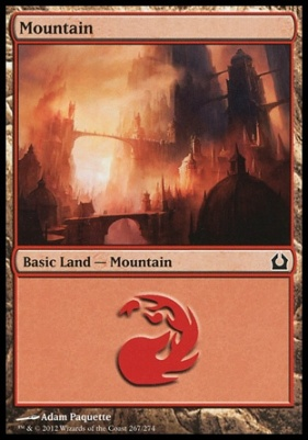 Return to Ravnica: Mountain (267 C)