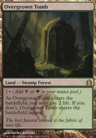 Return to Ravnica Foil: Overgrown Tomb