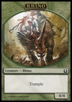 Return to Ravnica: Rhino Token