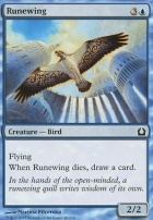 Return to Ravnica Foil: Runewing
