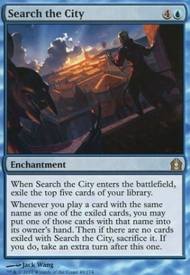 Return to Ravnica: Search the City