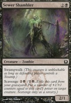 Return to Ravnica Foil: Sewer Shambler