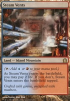 Return to Ravnica Foil: Steam Vents