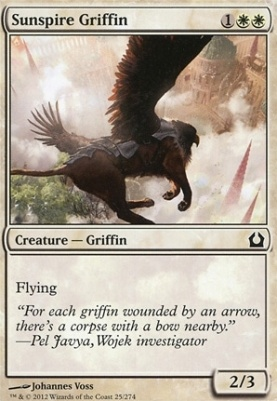 Return to Ravnica: Sunspire Griffin