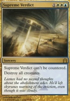 Return to Ravnica: Supreme Verdict