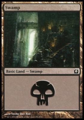 Return to Ravnica: Swamp (261 B)