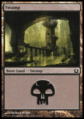 Return to Ravnica: Swamp (264 E)
