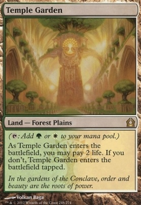Return to Ravnica: Temple Garden