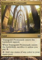 Return to Ravnica Foil: Transguild Promenade