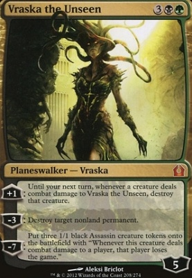 Return to Ravnica: Vraska the Unseen