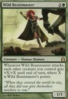 Return to Ravnica Foil: Wild Beastmaster