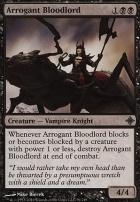 Rise of the Eldrazi Foil: Arrogant Bloodlord