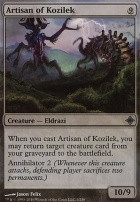 Rise of the Eldrazi: Artisan of Kozilek