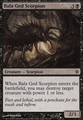 Rise of the Eldrazi Foil: Bala Ged Scorpion