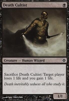 Rise of the Eldrazi: Death Cultist