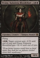 Rise of the Eldrazi Foil: Drana, Kalastria Bloodchief