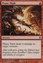 Rise of the Eldrazi Foil: Flame Slash