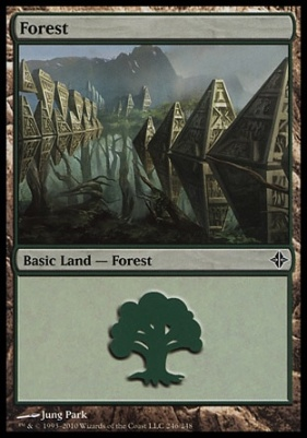 Rise of the Eldrazi: Forest (246 B)