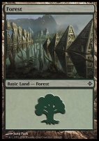 Rise of the Eldrazi: Forest (246 B)