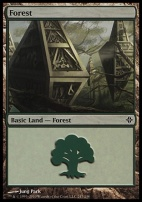Rise of the Eldrazi: Forest (247 C)