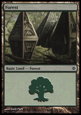 Rise of the Eldrazi: Forest (248 D)