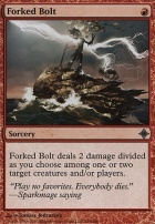 Rise of the Eldrazi Foil: Forked Bolt