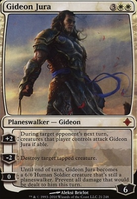 Rise of the Eldrazi: Gideon Jura