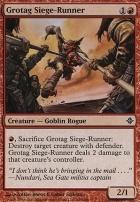 Rise of the Eldrazi: Grotag Siege-Runner