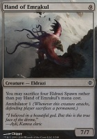 Rise of the Eldrazi: Hand of Emrakul